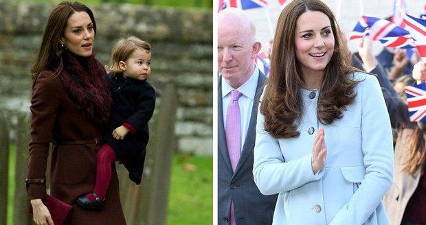 Vévodkyně Kate a její skvělý módní vkus. Tentokrát zaměřeno na kabáty!