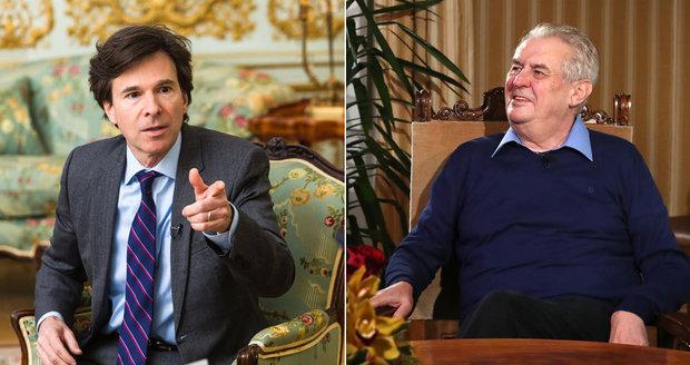 Schapiro: Miloš Zeman mi bude chybět. Tak jako všechno české