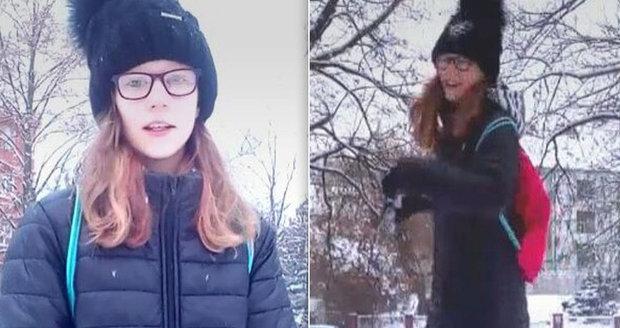 Poslední video Míši, než zmizela! Policie prohledává záběry z kamer