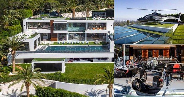 Milionář Bruce Makowsky prodává za 6 miliard své luxusní sídlo v Bel Air.