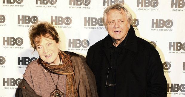 S manželem, kameramanem Stanislavem Milotou, se ve středu zúčastnila vzpomínkového večera na Jana Palacha v kulturním centru Vozovna.