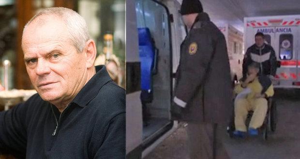 Zloděj Pavel, kterého postřelil Milan Kňažko: Hrozila mu amputace!