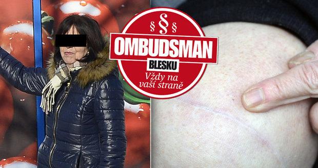 Zdraví mám zničené kvůli nepořádku v prodejně, stěžuje si paní Ivana (66)