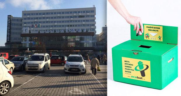 Baterie v Praze 4 můžete odevzdávat i na úřadu městské části, který stojí na Budějovické.