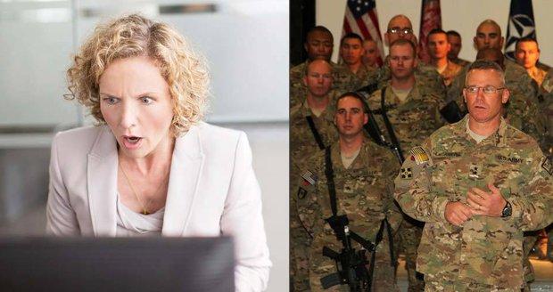 Falešný důstojník americké armády mámí z žen statisíce: Slibuje lásku až za hrob a společný život.  (Ilustrační foto)