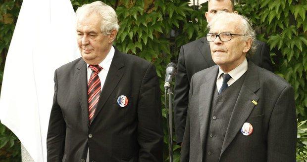 Sobotka se postavil Zemanovi: Srp nebude v komisi pro ocenění třetího odboje