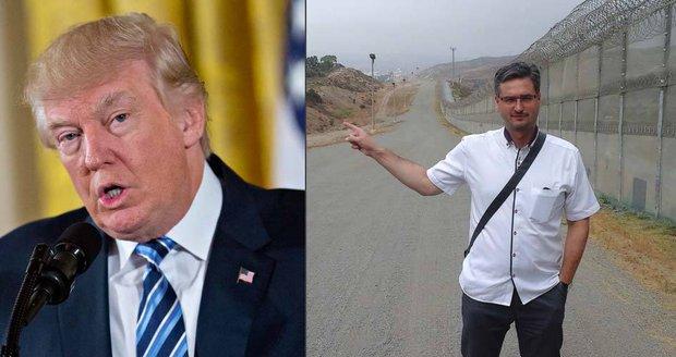 Čech z hranice s Mexikem: O Trumpově zdi proti migrantům i drogovém králi