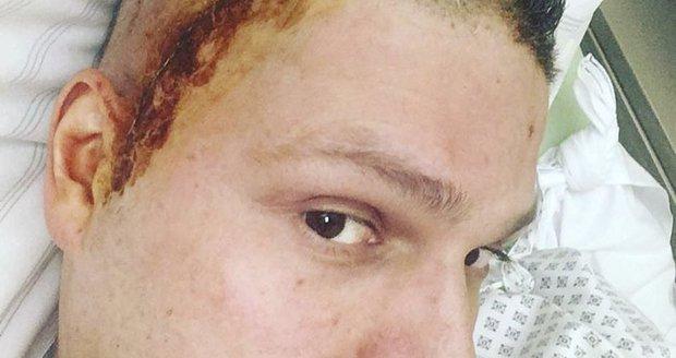 Petr v nemocnici