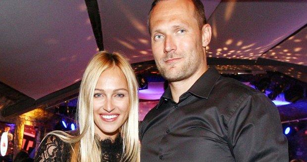 Ondřej s manželkou Renatou Langmannovou