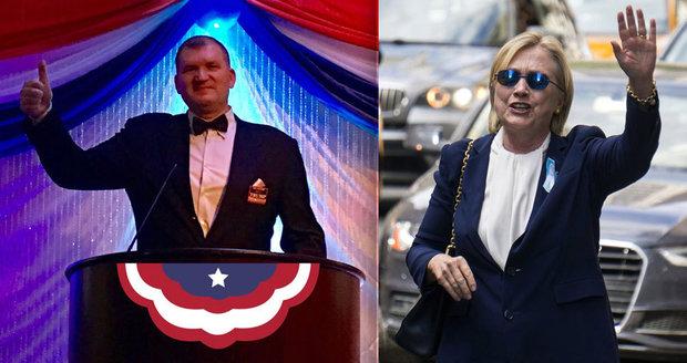 Čech, který natočil kolabující Hillary: Na inauguraci Trumpa ho oslavovali jako hrdinu!
