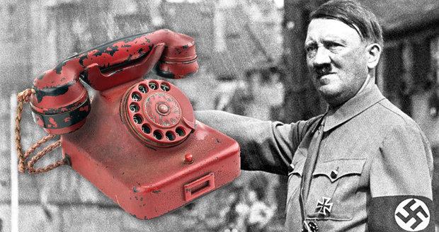 Dražba Hitlerova telefonu: Cena rudého aparátu může vyšplhat až ... - Blesk.cz