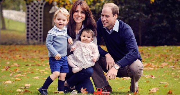 Královská rodina Kate a Williama