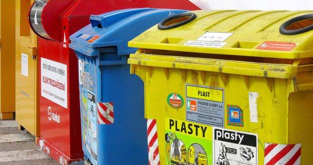 Dejvické kontejnery tříděného odpadu pod drobnohledem Pražských služeb