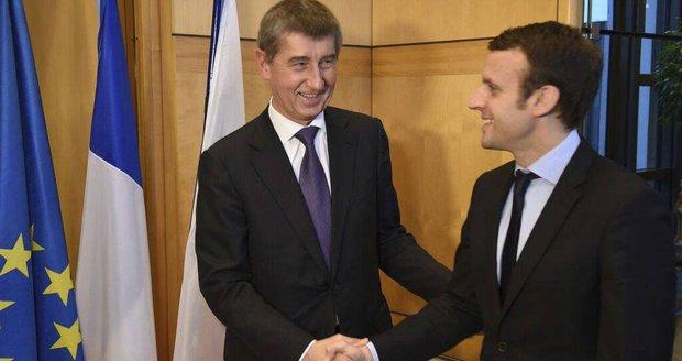 Macron varoval před zabitím Evropy. Přes Bratislavu zamíří do Prahy