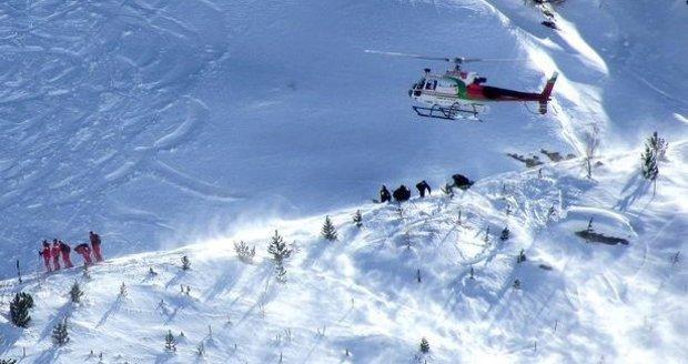 Lavina v Alpách zabila tři lyžaře. Mezi oběťmi ve Francii je i průvodce