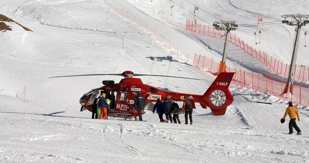 Lyžař (†46) v Krkonoších narazil do sloupu, zraněním na místě podlehl
