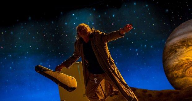 Snímky z natáčení dokumentu Nechte zpívat Mišíka