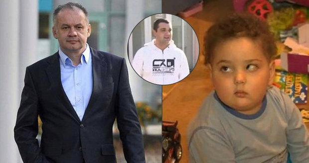 Maťka (†4) zabil nádor na mozku: Otec dostal prezidentskou milost, aby se mohl rozloučit