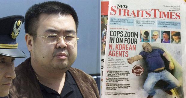 Poslední foto bratra diktátora Kim Čong-una před smrtí: Umíral zhroucený v křesle!