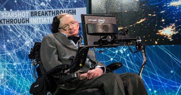 """Hawking o migraci: Lidé hledají """"nirvánu z Instagramu"""". Můžeme zničit Zemi"""