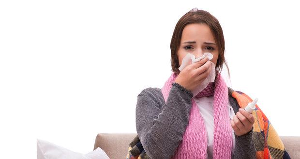 Příznaky rakoviny mohou občas vypadat i jako nachlazení a kašel.