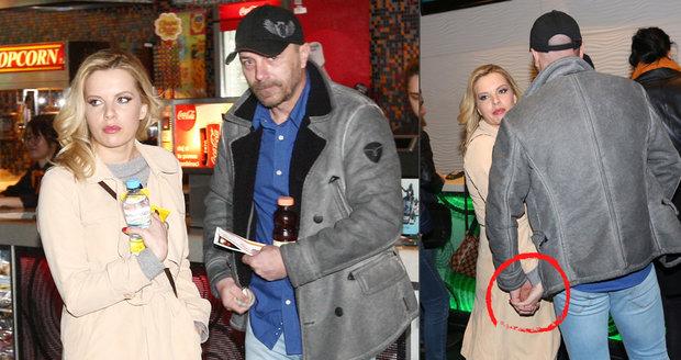 Kateřina Kristelová na rande v kině s Tomášem Řepkou