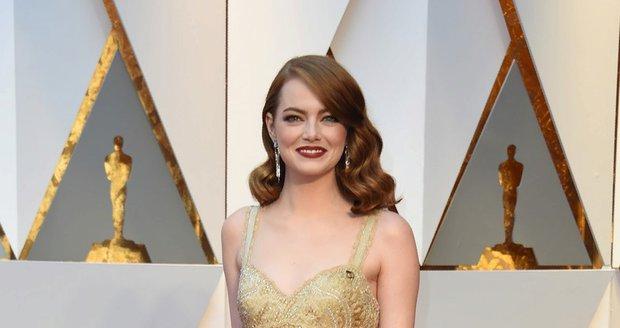Emma Stone byla z vyhlašování Oscarů v šoku.