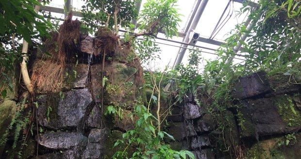 Ve skleníku Fata Morgana najdete také vodopády.