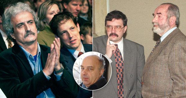 Gross, Svoboda, Tigrid, Lux či Dostál: 15 ministrů, kteří už jsou po smrti