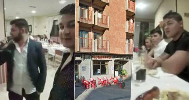 120 Rumunů si objednalo hostinu v restauraci. Před dezertem utekli bez placení
