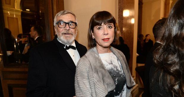 Manželé Jiří a Andrea Bartoškovi