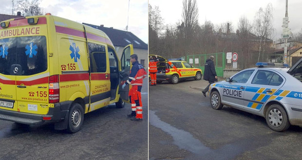 Muž z Plzeňska se pohádal se svojí sestrou, pak ji srazil autem a ujel