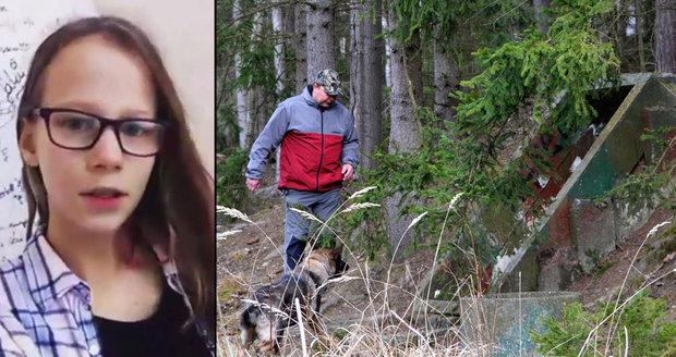 Pátrání po Míše: Pes hledá tělo v šachtách a úkrytech
