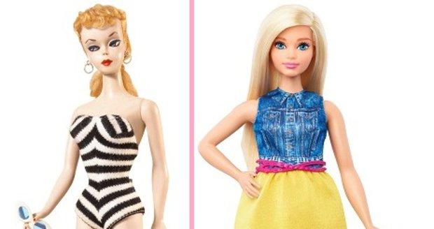 Panenka Barbie a její proměny
