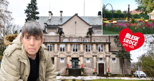 Irenka se do Vily Čerych dostala díky inzerátu v novinách.