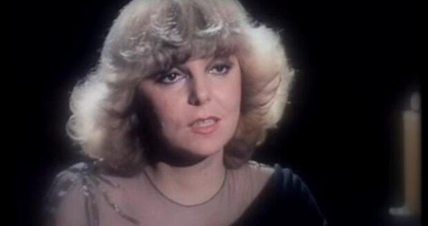 Hana Zagorová v klipu k písni Setkání