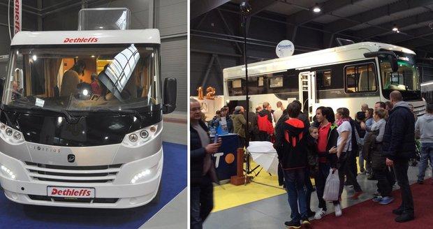 Digitální nomádství jede! Čeští fanoušci karavanů se sjeli do Letňan