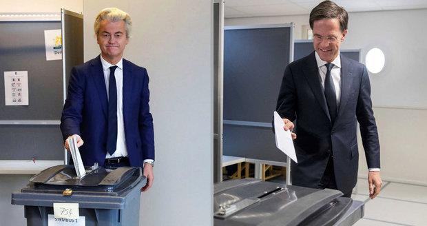 Souboj Wilders vs. Rutte jde do finále: Nizozemci volí parlament