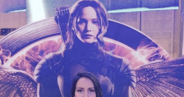 Veronika Arichteva a Jennifer Lawrence jsou jako dvojčata.