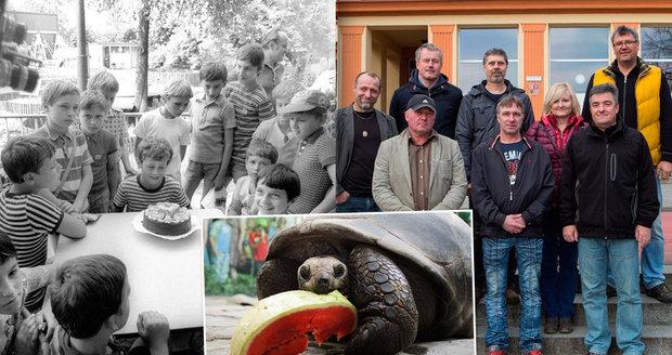 Parta kluků z fotky staré 42 let míří do Zoo Praha... a čekají je zvířecí pamětníci!