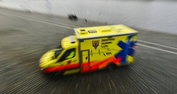 Sanitka záchranné služby (Ilustrační foto)