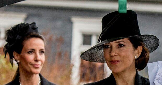 Princezna Marie a korunní princezna Marie z Dánska