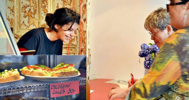 Bezdomovkyně si otevřely na Smíchově jídelnu: Podávají veganské jídlo za lidové ceny