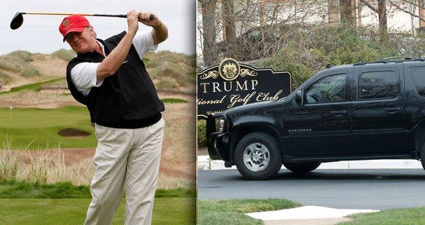 Trumpův sportovní úlet: Za 9 týdnů byl 12krát na golfu, Obamu za to kritizoval