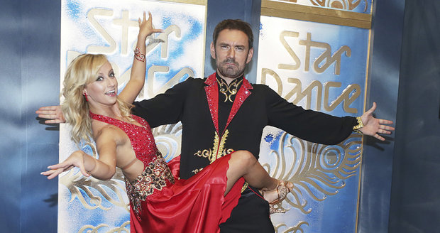 Lucie tancovala s Emanuelem ve StarDance