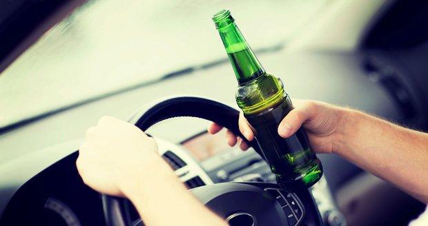 Ulicemi Brna uháněl další opilý řidič. Ilustrační foto