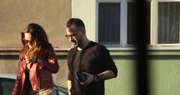 Gábina Dvořáková s Patrikem Paulisem