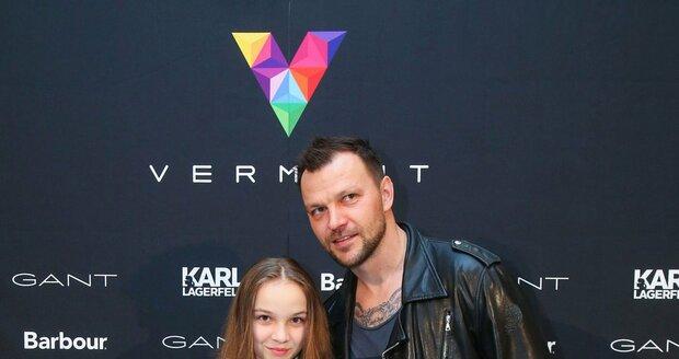 Tomáš Ujfaluši s dcerou