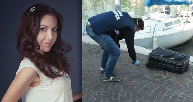 Italové našli kufr s mrtvolou ruské modelky. Do moře ho hodila její matka