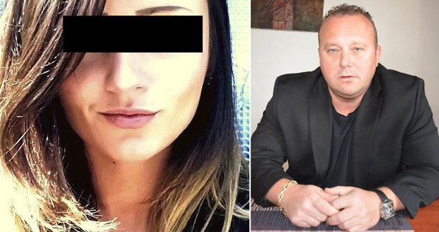 Přítel zavražděné Sabiny poskytl Blesku rozhovor na místě činu.